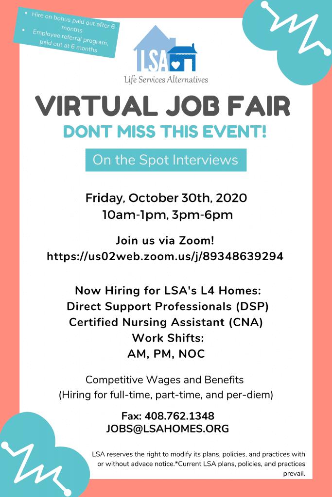 Final Job Fair Poster 1
