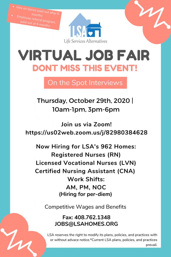 Final Job Fair Poster